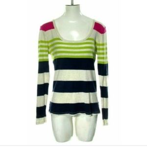 Old Navy Women's Large Multi Color Thin Knit Top